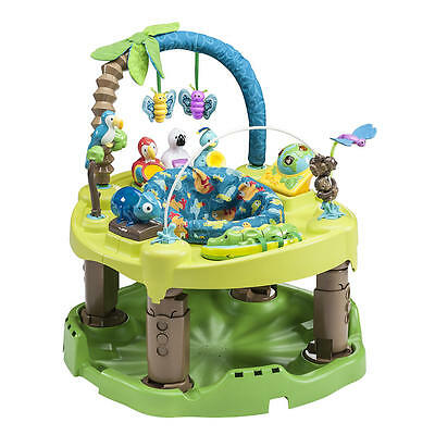 ExerSaucer Triple Fun Activity Center-Life in the Amazon. NEW IN BOX- FREE SHIP.