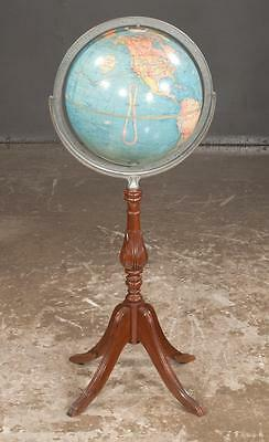 """12"""" terrestrial standard globe by Replogle Globes, Chicago, IL, in a c... Lot 21"""