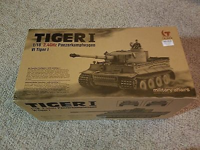 Taigen Late Tiger 1 (Plastic Version) Airsoft 2.4 Ghz RTR RC Tank 1/16 Scale