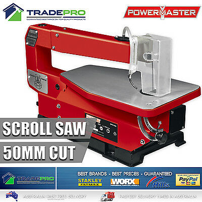 Scroll Saw Fret Table Saw PRO 406mm Adjustable Table with Dust Blower and Blade