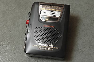 Panasonic Stereo Cassette Recorder RQ-A171 - Tested
