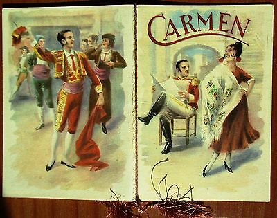 Calendarietto Da Barbiere - Anno 1964 - Carmen - Calendario