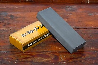 Mujingfang Natural Water Sharpening Stone - 13,000+ Grit - 66mm Wide