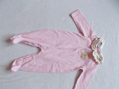 Disney Baby Girl 3-6 Months One Piece Sleepers pink Pooh
