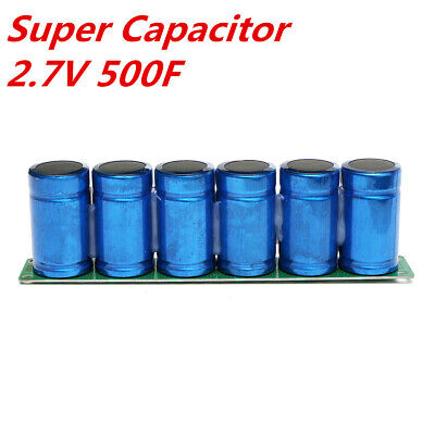6PCS 2 7V 500F Farad Super Capacitor Ultra Module 60X35MM With Protection  Board