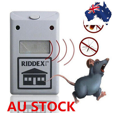Ultrasonic Electronic Pest Control Rodent Mice Repeller Cockroaches Home Using