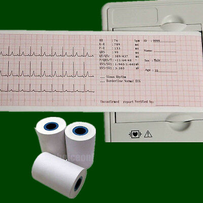 Roll Printer Print paper for ECG EKG Machine Vital Sign Patient Monitor 50mm*20m