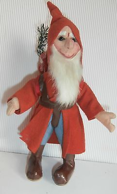 SALE LOWER PRICE/ RARE Christmas Kersa Germany  Santa  claus DOLL figure 9 1/2 ""