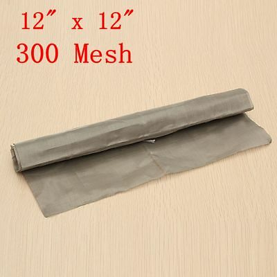 300 Mesh Filtration 300X300mm Woven Wire 316 Stainless Steel Screening Filter