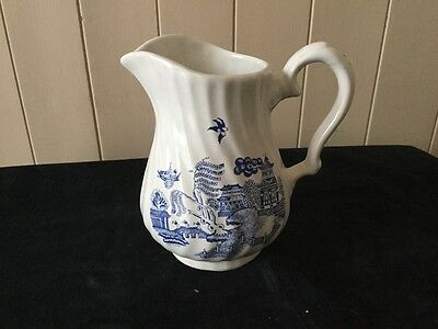 Ceracraft Pottery Willow Pattern Jug