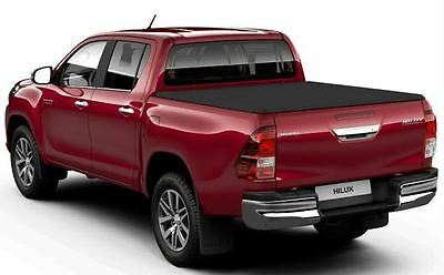 Genuine Toyota Hilux Soft Tonneau Cover Without Deck Frame PW3B10K016