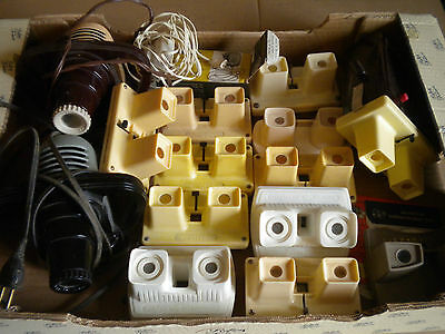Collection of Stereoviewers Lestrade Bruguiere Viewmaster inc sawyers projectors