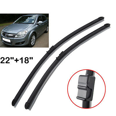 Front Window Windshield Wiper Blades For Opel Astra H 2004 2005 2006 2007 2008