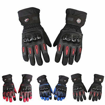 Pro-biker Windproof Waterproof Motorcycle Racing Winter Bicycle Warm Gloves M-XL