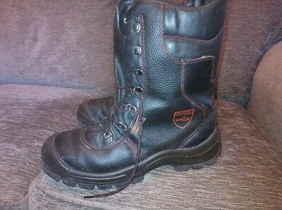 oregon chainsaw boots size 10  or size 44 eur offers welcome