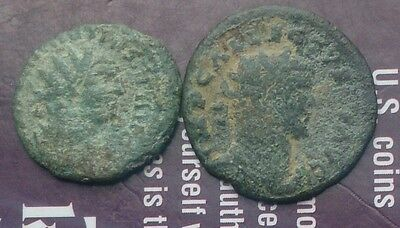 Carausius and Allectus 2 coins