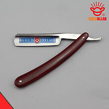 Gold Dollar 200 Barber Straight  Razor  Shave Ready Fine Carbon Steel