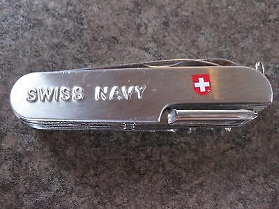 Swiss Navy Knife  Multiple Functions Key Ring