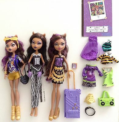 Monster High Doll Clawdeen Wolf Boo York / Freak Du Chic / Scaris