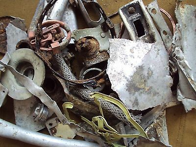 Parts aircraft He 111 . German . Luftwaffe . Eastern front . WW2