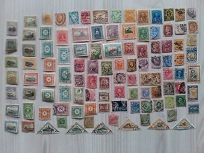 Lote Sellos Antiguos De Todo El Mundo / Old Stamps From All Over The World