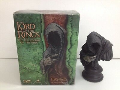 """Lord Of The Rings """"Ringwraith"""" 1/4 Scale Polystone Bust Figurine/Statue"""