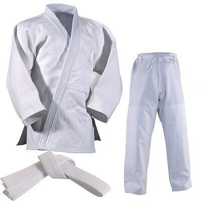 Master Heavyweight Judo Suit White Adult Kids 750g Judo uniform with Free Belt