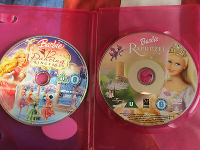 Two Barbie DVD