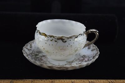 Teacup And Saucer - Very Thin - Asian Marking- Age Unknown Cb