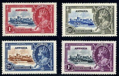 Antigua  -  Silver  Jubilee  Stamps.