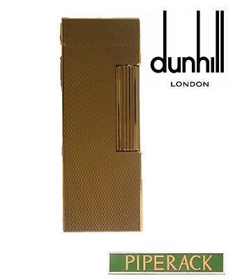 NEW Dunhill Rollagas Gold Plated Barley Lighter RLS1450 Classic Cigarette Flame
