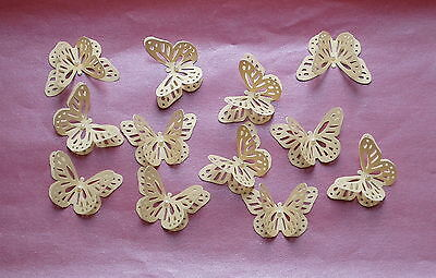 25 Lovely 3D Butterflies. Wedding Invites Table Decorations Favours, Card Making