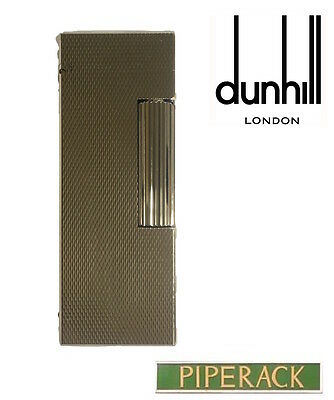 NEW Dunhill Rollagas Palladium Plated Barley Lighter RLS1350 Cigarette Flame