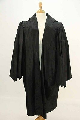A Styled Black Clerical/Graduation Gown