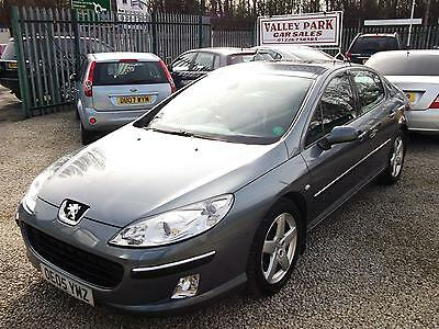 2005 Peugeot 407 2.0HDi 136 Autotmatic Executive Service History