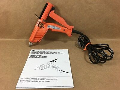 3M Scotch Weld Hot Melt Applicator LT Quadrack Glue Gun w/ Palm Trigger - Manual