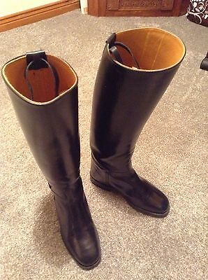 ladies leather riding boots - size 3