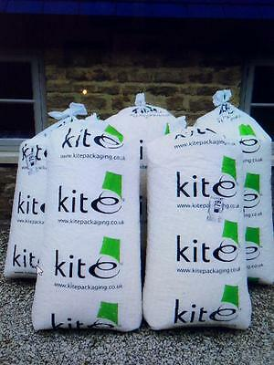 KITE PACKAGING x5 Starch Based 15cuft Bags of Loose Fill/Void Fill Peanuts/Chips