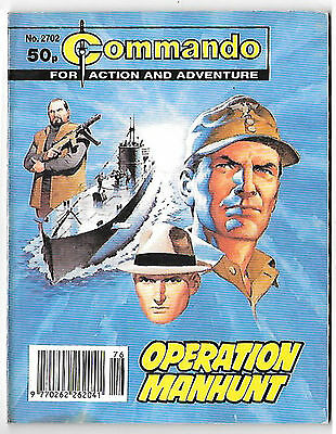 "Commando 2702 (1994) very high grade copy ""Operation Manhunt"""