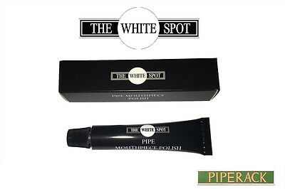 New Dunhill White Spot Pipe Mouthpiece Polish 10g (Compatible with all Pipes)