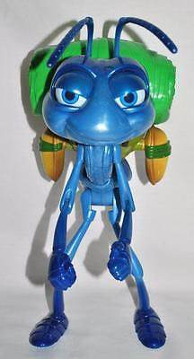 "A Bug's Life 13"" Flik Ant Deluxe Moving Talking 30 Phrases Disney Pixar"