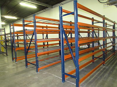 pallet rack racking new shelving UPRIGHTS 96X24 warehouse WE MANUFACTURE CALL