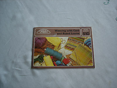 Weaving with Card and Board Looms
