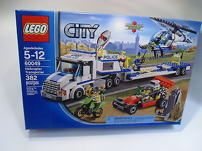 NEW LEGO City Police Helicopter Transporter (60049) - Sealed - Box is Mint