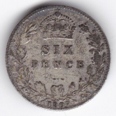 1907 Edward VII Sixpence***Collectors***