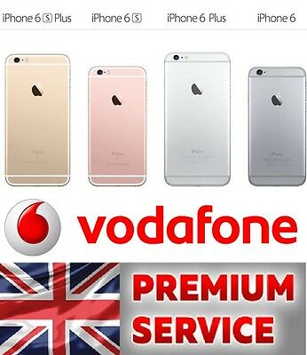 100% Official and FAST Vodafone UK Unlocking Service iPhone 6 6+ Plus 6S 6S+Plus