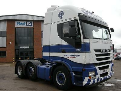 IVECO STRALIS 500 ACTIVE SPACE 6x2 TRACTOR UNIT 2008