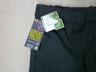 Job Lot Bundle- 60 New Pairs Of Girls Ex-Bhs Store Group Grey School Trousers
