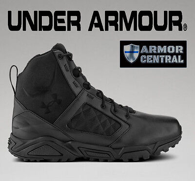 NEW Under Armour Men's Black UA Tactical TAC Zip 2.0 Boots - All Sizes - 1261916