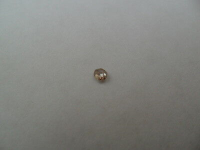 Useful Old Mine Cut Loose Natural Diamond Approx 3 mm For Spares/Repairs.